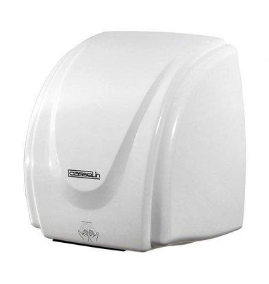 Casselin Händetrockner BASIC | Weiß Kunststoff | 15-20 sec | 2100W