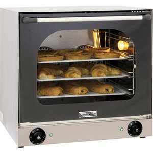 Casselin Fan oven XXL - 595x615x570 (h) mm - inc. 4 baking trays