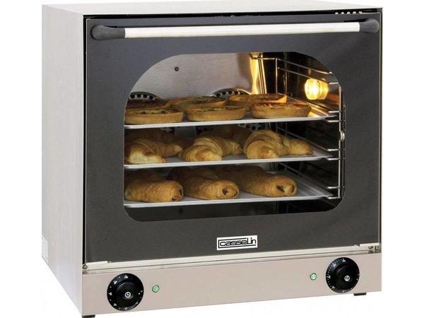 Casselin Fan oven XXL - 595x615x570 (h) mm - inc. 4 baking trays