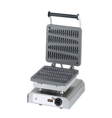 Neumarker Lolly Wafelijzer - Wafels op Stok - 4 Stuks - Vaste Platen - 300x320X(h)300mm - 2200W