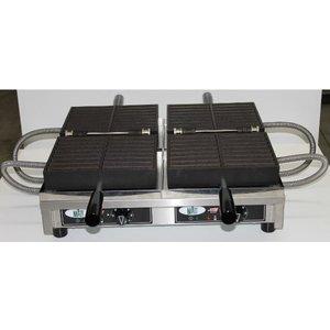 XXLselect Dubbele Friet Wafelijzer - voor 2 x 16 wafelfrietjes - 3600 Watt - NEW!