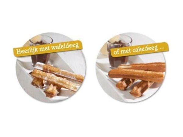 XXLselect Doppel Waffle Fries - 2 x 16 Waffel Pommes - 3600 Watt - NEU!