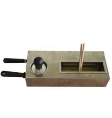 Diamond Luxe Starterskit voor Crepes Bakplaten | 2 spatels + 2 deegverspreiders + 1 Reinigingsstempel
