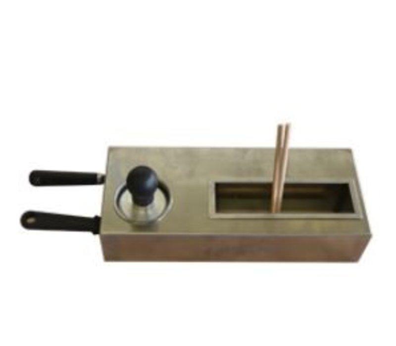 Diamond Deluxe Starter Kit für Crepes Table_Chefs | 2 Spatel + 2 + 1 Reinigung Schlag Teig Treuer