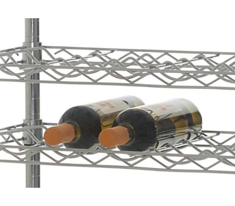 XXLselect Professional Wine Rack | Wine Proposition 14 levels- Presentation - 168 bottles - 75cl