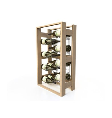 XXLselect Wine rack Beech - 16 Magnums