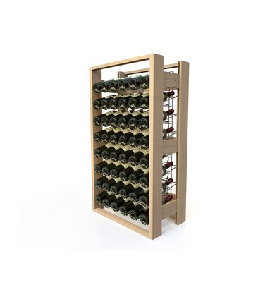 XXLselect Beech wood wine rack - 48 bottles Law