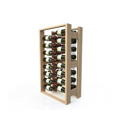XXLselect Wijnrek Beukenhout - 48 Flessen Gekruist