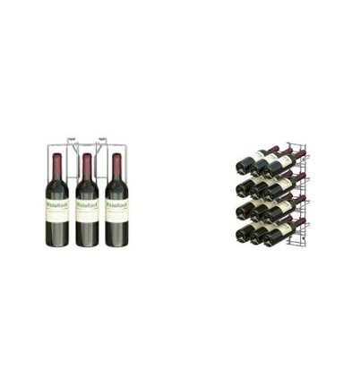 XXLselect WijnFlessenrek Presentation 12 Flaschen - 4 Ebenen - 75cl