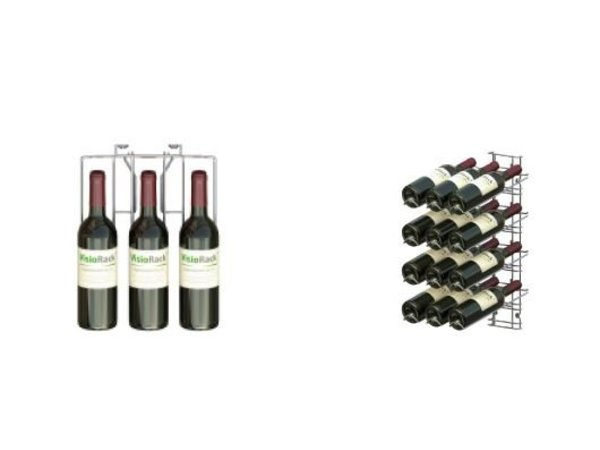XXLselect WijnFlessenrek Presentation 12 Bottles - 4 levels - 75cl