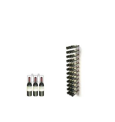 XXLselect WijnFlessenrek Presentation 36 Flaschen - 12 Levels - 75cl