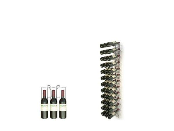 XXLselect WijnFlessenrek Presentatie 36 Flessen - 12 niveaus - 75cl