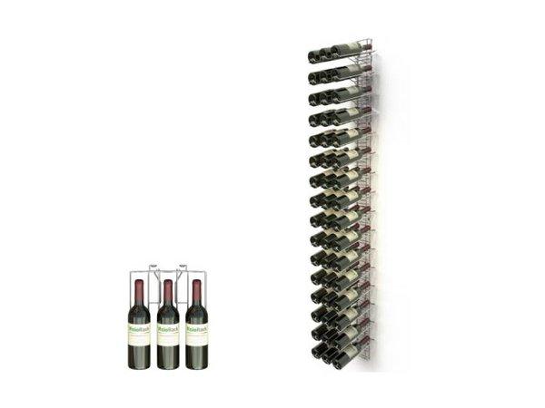 XXLselect WijnFlessenrek Presentatie 48 Flessen - 16 niveaus - 75cl