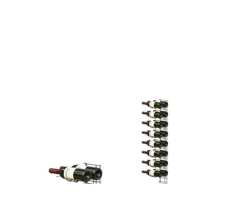 XXLselect WijnFlessenrek Presentation 16 Bottles - 8 Stufen - 75cl