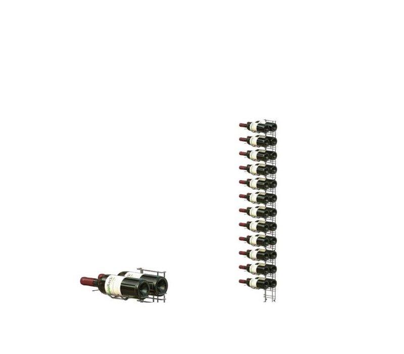 XXLselect WijnFlessenrek Presentatie 24 Flessen - 12 niveaus - 75cl