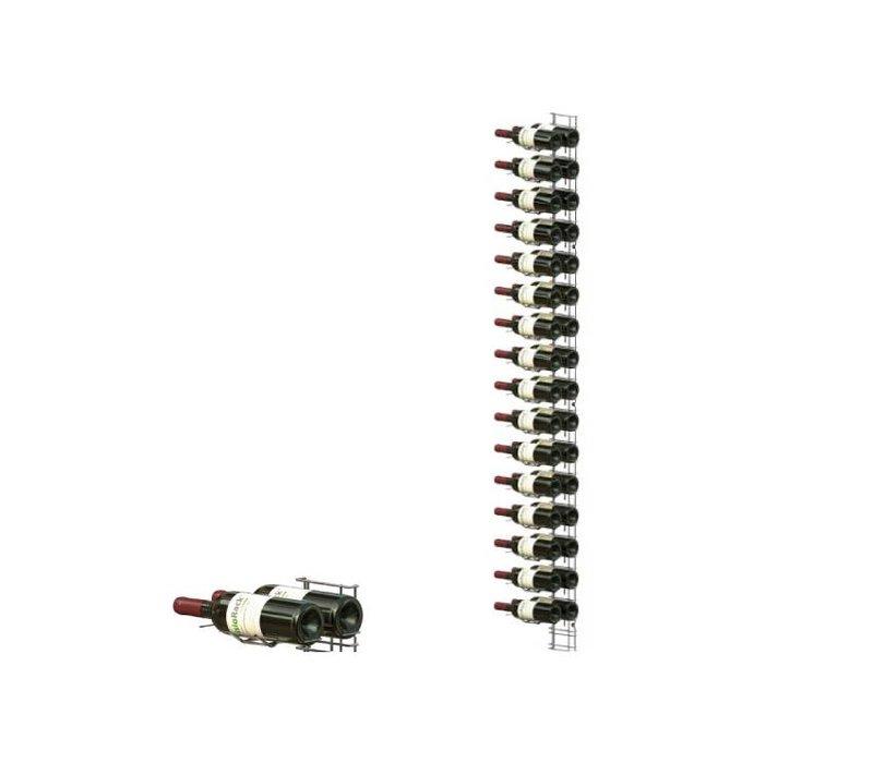 XXLselect WijnFlessenrek Presentatie 32 Flessen - 16 niveaus - 75cl