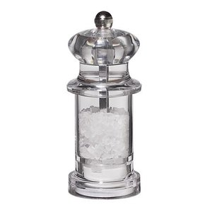 XXLselect Salt Mill - Acrylic - Transparent - 11 cm