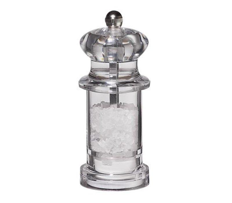 XXLselect Zoutmolen - Acryl - Transparant - 11 cm