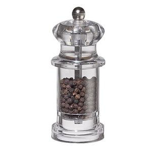 XXLselect Pepper Mill - Acrylic - Transparent - 11 cm