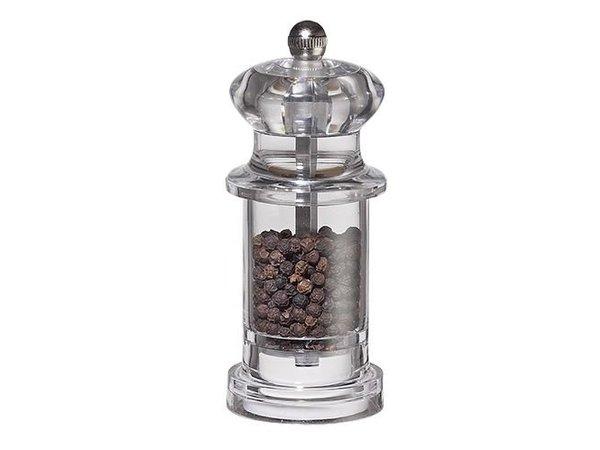 XXLselect Pepper Mill - Acrylic - Transparent - 11 cm