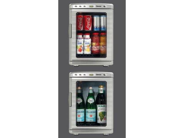 Bartscher Minikühlschrank - 19 Liter - 33x37x (h) 46 cm
