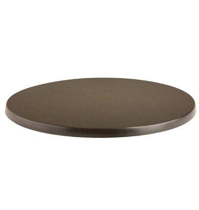 Bolero Werzalit tabletop Wenge ø80cm