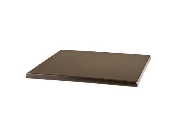 Bolero Werzalit tafelblad Wenge 60 x 60cm