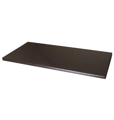 Bolero Werzalit tabletop Wenge 110 x 70cm