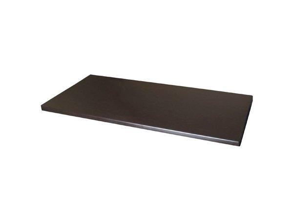 Bolero Werzalit tafelblad Wenge 110 x 70cm