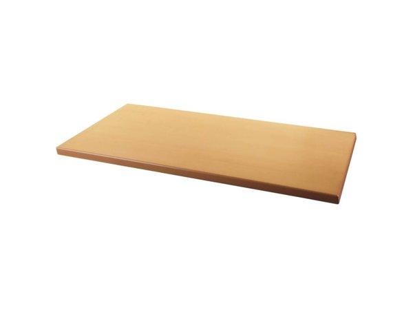 Bolero Werzalit tafelblad beuken, 110x70cm