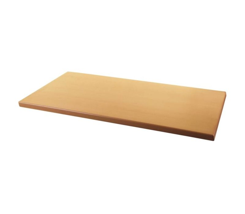 Bolero Werzalit tabletop beech, 110x70cm