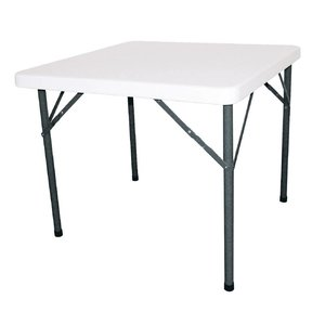 Bolero Round Table with foldable legs - Terrace Table - 74 (h) x86x86cm