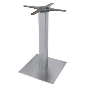 Bolero Tafelpoot Roestvrij Staal - Universeel - Hoog 72cm - voor tafelbladen tot 800mm Ø of (B)