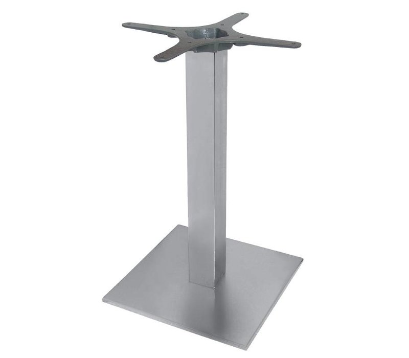 Bolero Table leg Stainless Steel - Universal - High 72cm - for table tops up to Ø 800mm or (B)
