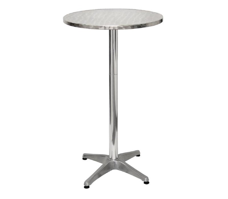 Bolero Catering Statafel - Aluminium Frame - Stainless steel Worktop ...
