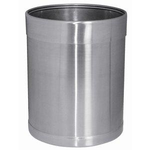Bolero Stainless steel trash 10.2 ltr.