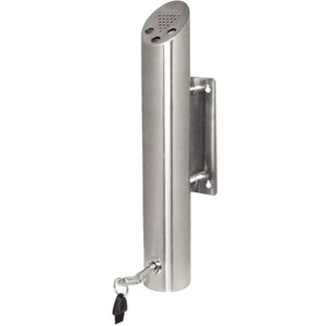 Bolero Column butt Wandmodel | Easy to empty | Lockable | 460 (H) x 75 (Ø) mm