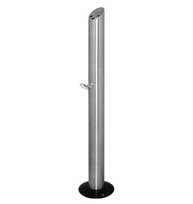 Bolero Column Hintern stehenden | Edelstahl | Leicht zu legen | 200x980x (H) 210mm