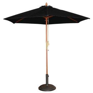 Bolero Parasol zwart ø 3 mtr.