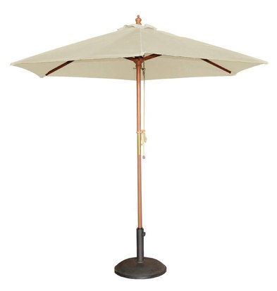 Bolero Parasol ecru rond 2,5 mtr.