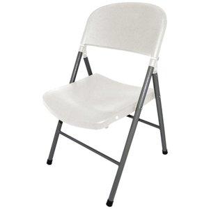 Bolero Opklapbare stoelen Wit - Prijs per 2 stuks