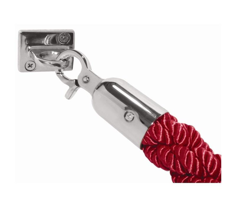 Bolero Cord outlet for Barrier posts - 1.5 meters - Turned Red