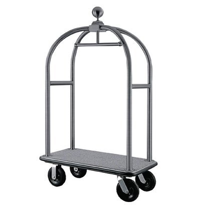 Bolero Lobby Luggage / Luggage Trolley - Stainless Steel