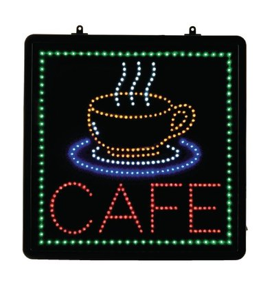Bolero Led display cafe