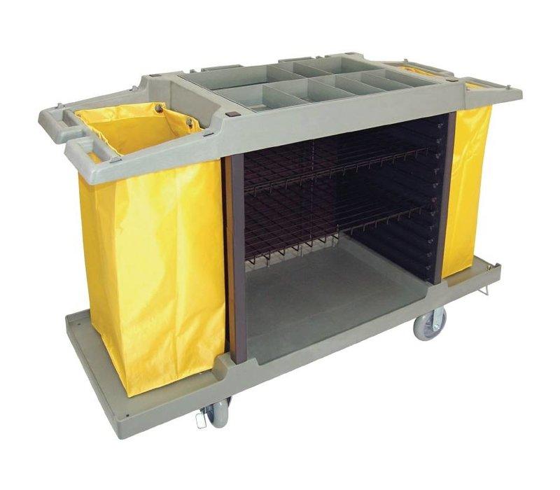Bolero Household trolley, 2 x 77 liters. lower