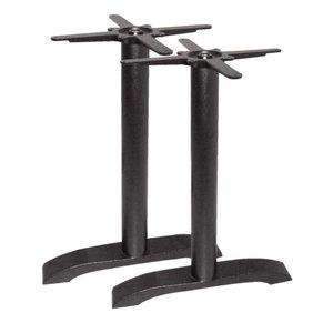 Bolero Doppeltischbein Gusseisen - Universal - Hoch 72cm - Tischplatten bis 700x1100mm