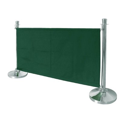 Bolero Canvas cloth outlet for sales poles - Green