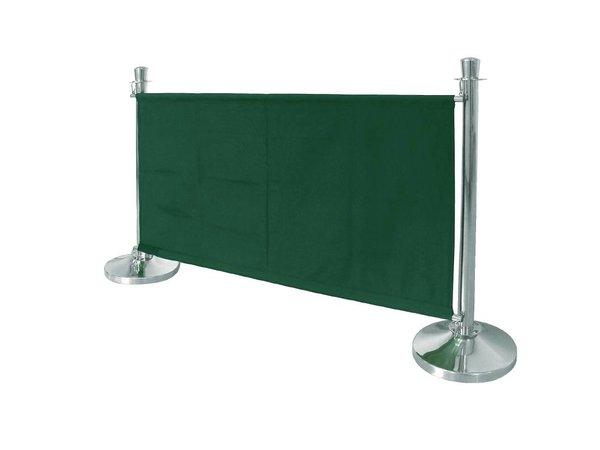 Bolero Canvas cloth outlet for sales poles - Green
