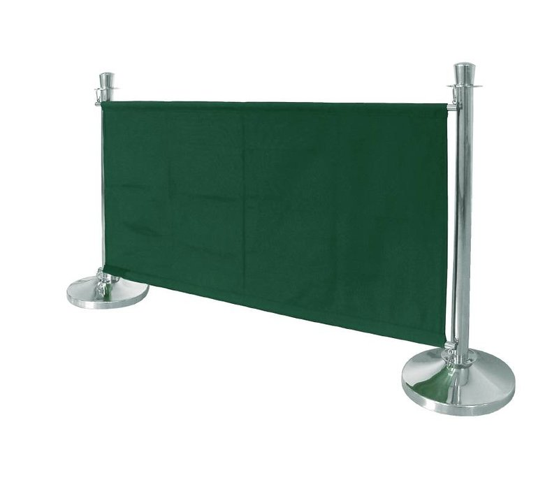 Bolero Leinentuch Steckdose für den Vertrieb Pole - Grün