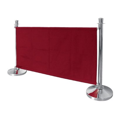 Bolero Canvas cloth outlet for sales poles - Red / Bordeaux